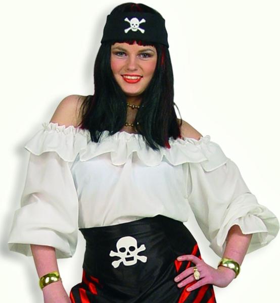 piratin bluse piratinenbluse flamenco spanierin karnevalskost m 11487 ebay. Black Bedroom Furniture Sets. Home Design Ideas