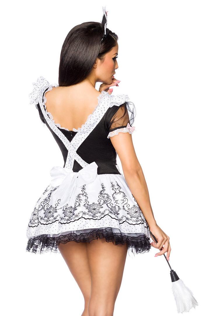 Sexy dienstmädchen kostüm