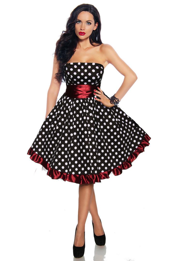 rockabilly kleid  karnevaldepot günstige kostüme online