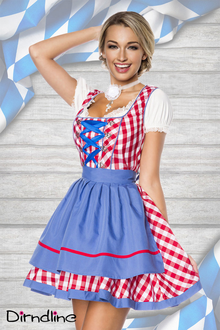 Traditionelles Mini-Dirndl