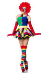 Clown Girl Komplettset