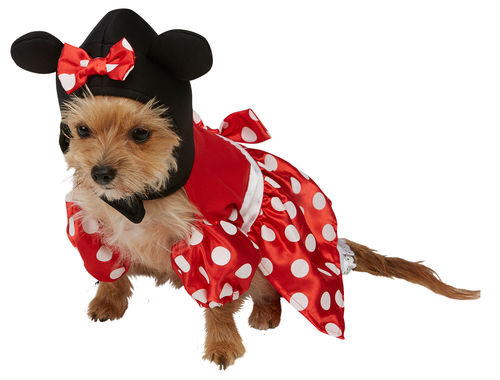 Minnie Mouse Hundekostüm